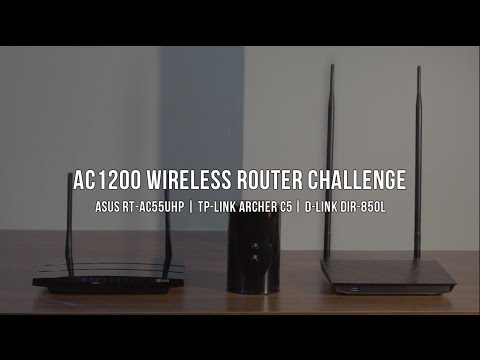 AC1200 Wireless Router Comparison (Asus RT-AC55UHP | TP-Link Archer C5 | D-Link DIR-850L) | Review