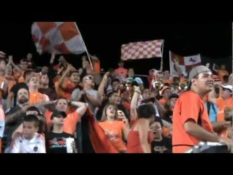 Video - The North End - Dynamo vs Sporting KC - 07/16/2011 - The North End - Houston Dynamo - Estados Unidos