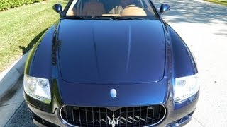 Private Jet Under A Million: 2009 Maserati Quattroporte S Review
