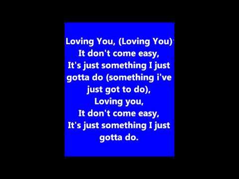 Loving you - ILS lyrics