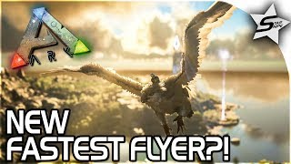 NEW FASTEST FLYER TAME?! - DIVEBOMBING GRIFFIN, FREE RAGNAROK DLC ARK Survival Evolved - ARK GRIFFIN
