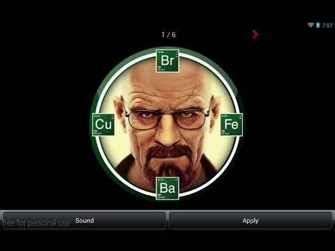 Video of BREAKING BAD SOUND-CLOCK