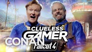 """Video Clueless Gamer: """"Fallout 4""""  - CONAN on TBS MP3, 3GP, MP4, WEBM, AVI, FLV Maret 2019"""