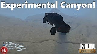 SpinTires MudRunner: NEW EXPERIMENTAL CANYON MAP!