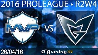MVP vs Samsung Galaxy - 2016 Proleague - Round 2 Week 4