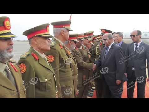 وزير الشؤون المغاربية الجزائري يصل طرابلس