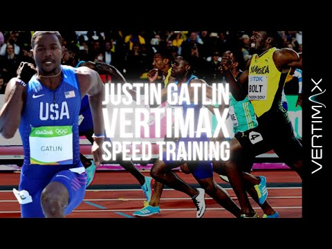 Justin Gatlin Speed Training With VertiMax