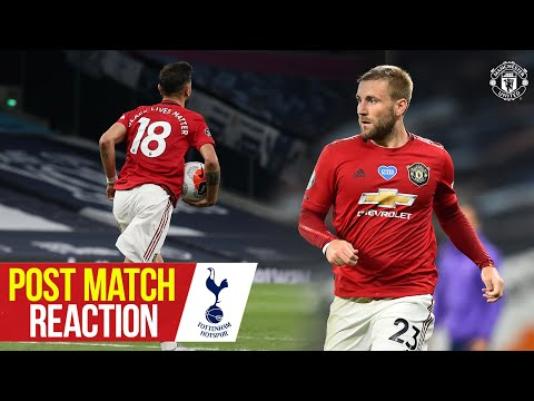 Solskjaer, Fernandes & Shaw react to Spurs draw | Manchester United 1-1 Tottenham Hotspur