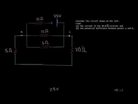 Solving Circuits - Resistance in Series and Parallel