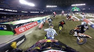 GoPro: James Stewart 14th to 1st - 2014 Monster Energy Supercross Toronto - YouTube