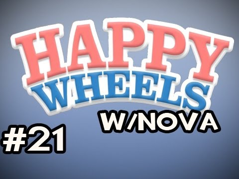 Happy Wheels w/Nova Ep.21 - Beating The Boobies Video