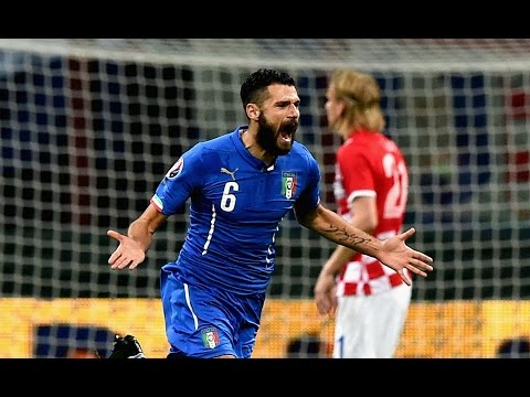 euro 2016: italia - croazia 1-1 goals & highlights