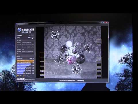 3930k - Here I do a CINEBENCH 11.5 run on the Intel Core I7 3930K @ 5Ghz! I am using the ASUS Rampage IV Extreme Motherboard. H100 for cooling, fans set to High ambi...