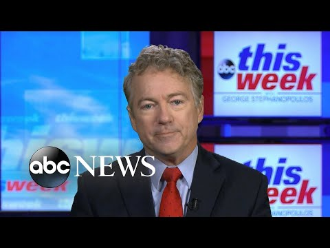 'Debate over whether or not there was (election) fraud should occur': Sen. Paul | ABC News