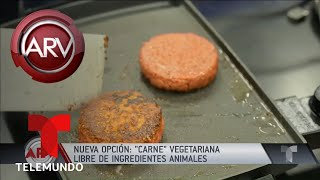Carne VEGETARIANA, una alternativa saludable para comer | Al Rojo Vivo