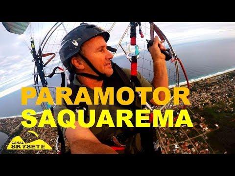 Voo Paramotor Saquarema Praia Jaconé ate Sampaio Corrêa.