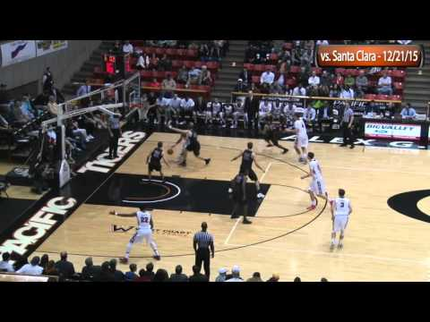 HIGHLIGHTS: Men's Basketball vs. Santa Clara