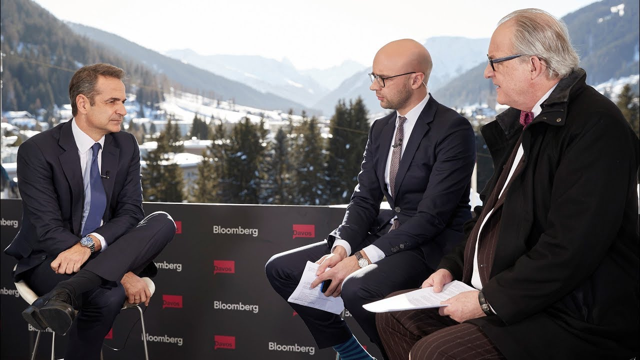 Prime Minister Kyriakos Mitsotakis' interview on Bloomberg