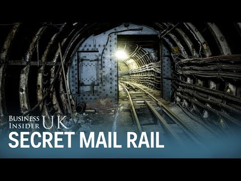 We took a ride on London's hidden underground mail rail line - here's what it's like