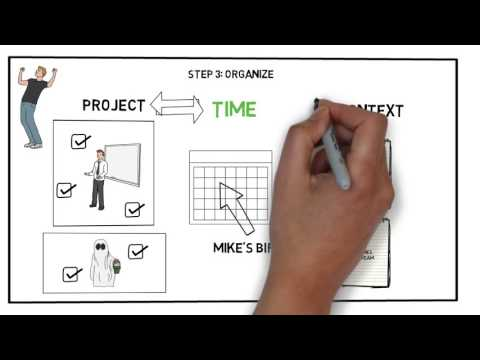Watch 'Getting Things Done (GTD) by David Allen - Animated Book Summary & Review - YouTube'