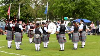 Blair Atholl United Kingdom  city photos gallery : British Championships 2014 - Edradour Pitlochry & Blair Atholl Pipe Band