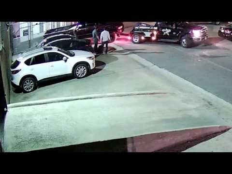 Lifted Dodge Ram truck gets towed from no parking zone