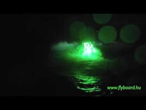 Éjszakai Flyboardozás - Tisza-tó Abádszalók
