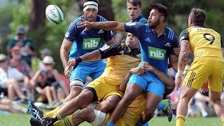 2016 Pre-season: Hurricanes v Blues  |Super Rugby Video Highlights