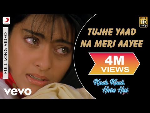 Video Tujhe Yaad Na Meri Aaye - Kuch Kuch Hota Hai | Shahrukh | Kajol download in MP3, 3GP, MP4, WEBM, AVI, FLV January 2017