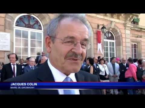 S.A.S. le Prince Albert II en visite officielle à Belfort