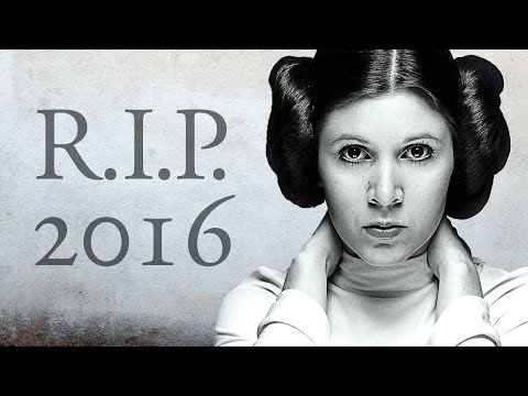Rest in Peace 2016 - Verstorbene Stars   In Memoriam