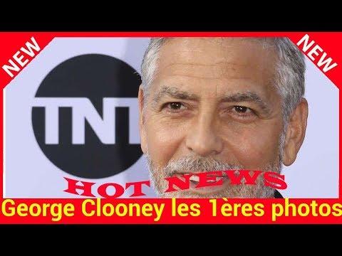 George Clooney les 1ères photos après son accident, l'acteur semble affaibli