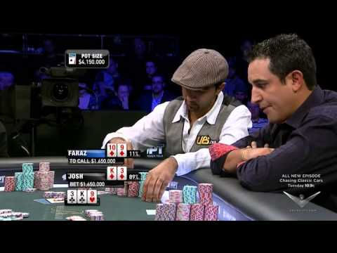 Sensational Final Table World Poker Tour 5 Diamons.high Class Poker.