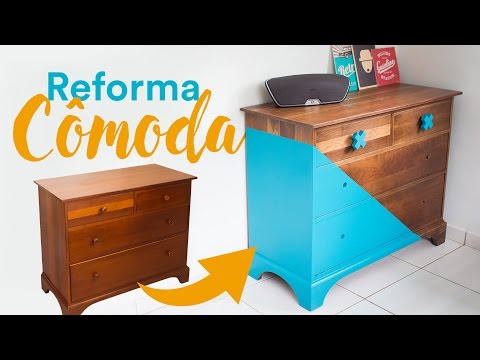 Cômoda reformada