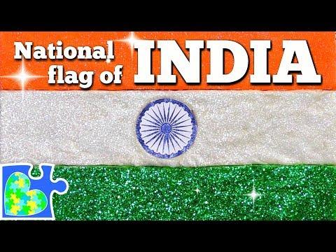 Play doh - Play-Doh FLAG of INDIA!  Indian Flag  Flags of the World   तिरंगा  Tiranga