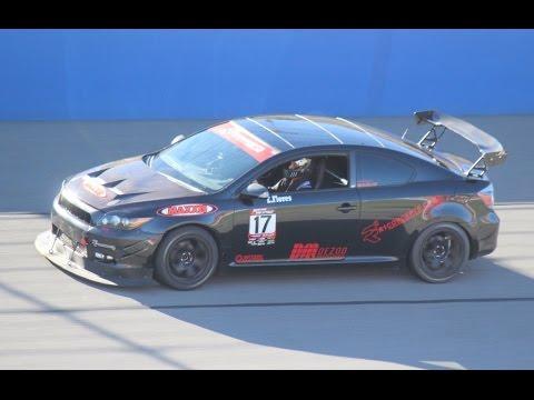 350 HP Turbo Scion TC Race Car - One Take