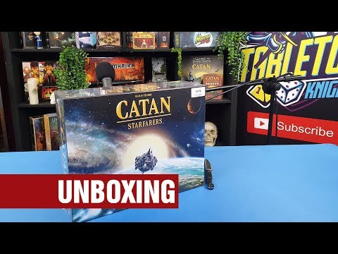 Catan: Starfarers (2019) - Unboxing