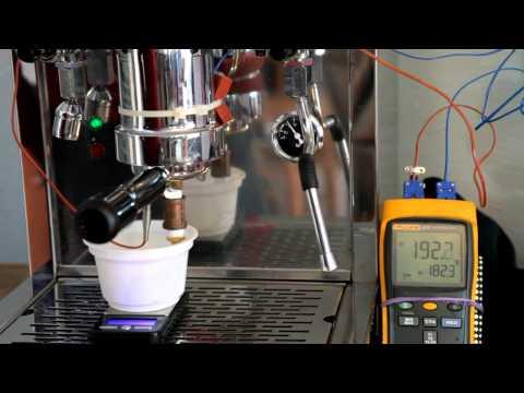 Londinium 1 brew temperature testing