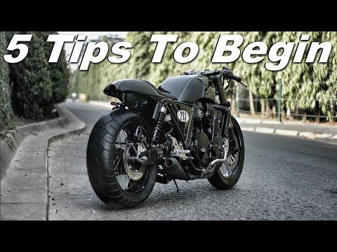 Sugestii despre cum să începi un design Cafe Racer