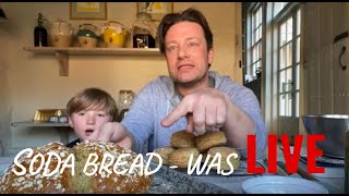 🔴 WAS Live Jamie and Buddy making SodaBread #stayinside by Jamie Oliver