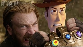 Video Disney/Pixar's AVENGERS: INFINITY WAR - Mash-Up Trailer Parody 2 MP3, 3GP, MP4, WEBM, AVI, FLV Maret 2019