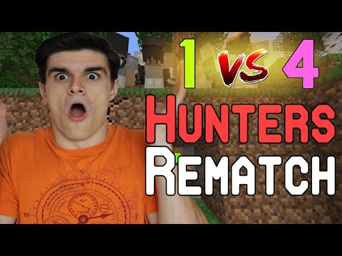 Reaction to Dream vs 4 Hunters REMATCH (Dream Minecraft Manhunt)