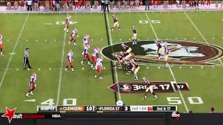 Vic Beasley vs FSU (2014)