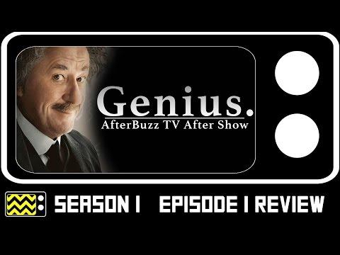 Genius Season 1 Episode 1 Review & After Show   AfterBuzz TV