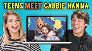 Video TEENS REACT TO GABBIE HANNA REACTS TO TEENS REACT TO GABBIE HANNA MP3, 3GP, MP4, WEBM, AVI, FLV Maret 2018
