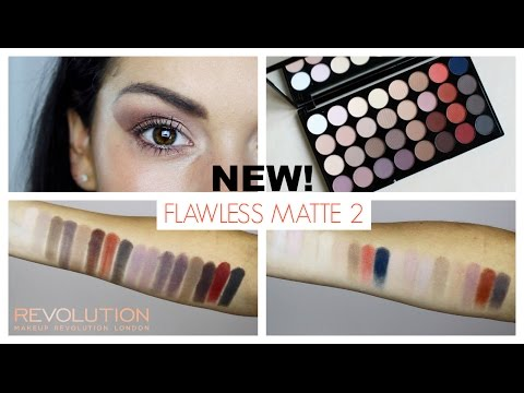 Makeup Revolution Makeup Revolution Ultra 32 Eyeshadow Palette Flawless Matte 2