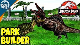 BUILDING JURASSIC PARK - Jurassic World Evolution Hype! | Jurassic Park: Operation Genesis