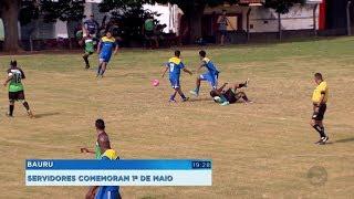Bauru: servidores municipais aproveitam feriado de 1º de maio com tradicional torneio de futebol