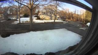 2015 Marblehead snow melt