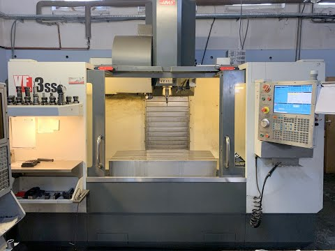 CNC Vertical Machining Center HAAS VF-3SS 2013